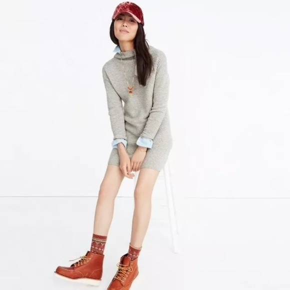3f8db2df98e Madewell Dresses   Skirts - MADEWELL Skyscraper Sweater Dress
